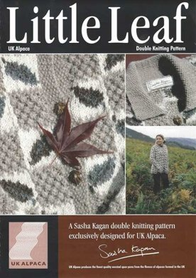 Little Leaf Cardigan in UK Alpaca Super Fine DK (Downloadable PDF)