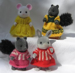 Pretty Frocks for Sylvanian Families