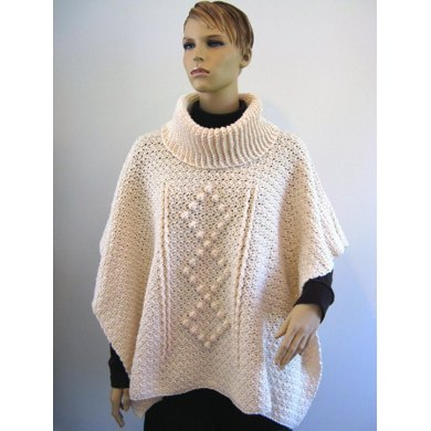 Chic Cowled Poncho