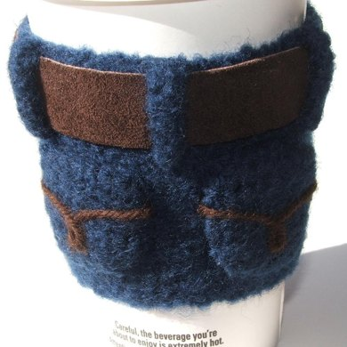 Bottoms-Up Felted Coffee Cuff