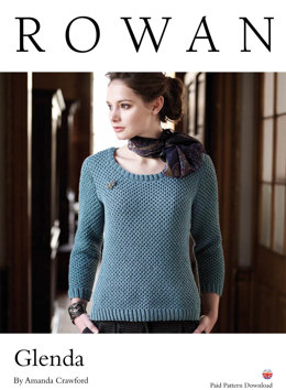 Glenda Sweater in Rowan Wool Cotton DK