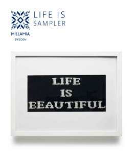 Life Is Sampler in MillaMia Naturally Soft Merino - Downloadable PDF