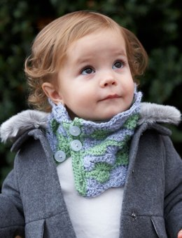 Cozy Kid Cowl in Bernat Softee Baby Solids