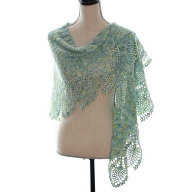 Sea Glass Shawl