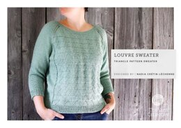 """""""Louvre"""" - Jumper Knitting Pattern by Nadia Cretin-Lechenne in The Yarn Collective"""