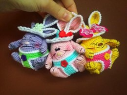 Amigurumi Easter SUMO EGGS Pattern