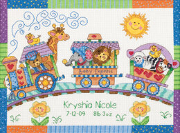 Dimensions Baby Express Birth Record Cross Stitch Kit