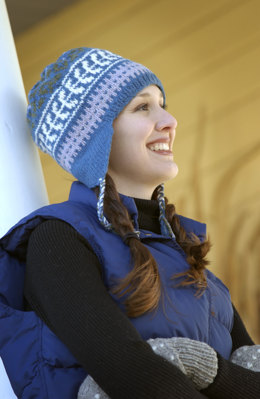 Northern Harvester Toque Hat in Imperial Yarn Columbia - P106 - Downloadable PDF