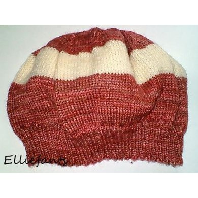Simple Sock Yarn Hat