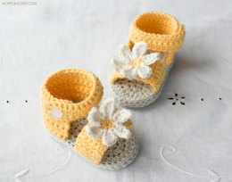 Daisy Delight Baby Sandals