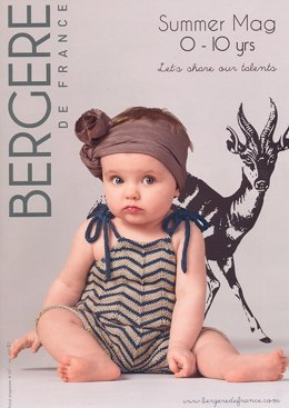 Bergere de France Magazine 167 - Spring / Summer for Kids