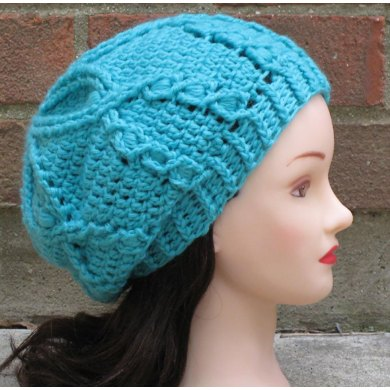Waterlily Slouchy Beret