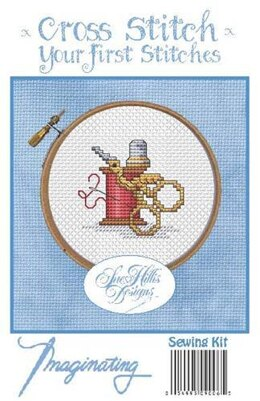 Imaginating Sewing Cross Stitch Kit - 2.2in x 2.1in