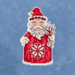 Mill Hill JimShore Pint Size Christmas - Nordic Santa - 3inx5in