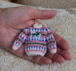 Miniature Stag Fairisle Jumper