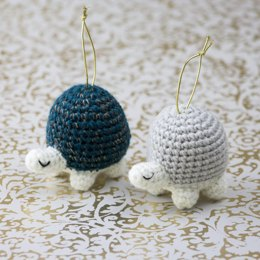 Twinkle Turtle Ornaments