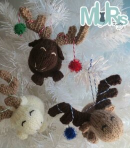 Chocolate Moose Hanging Ornament