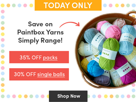 Save on Paintbox Yarns Simply range! 35 percent off packs, 30 percent off single balls!