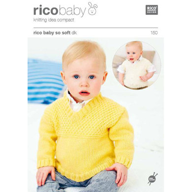 Sweater and Tank Top in Rico in Baby So Soft DK - 150