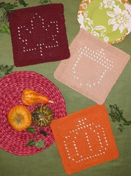 Autumn Glory Dishcloths
