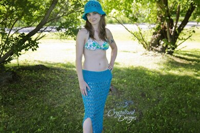 Mermaid Lace Swimsuit Cover