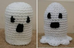 Amigurumi Ghosts