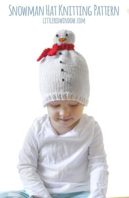 Winter Snowman Hat