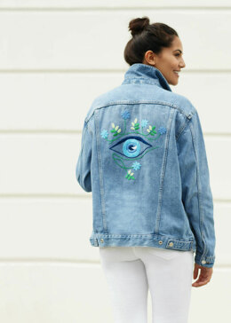 5TH Avenue - Eye Denim Jacket in Anchor - Downloadable PDF