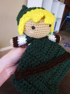 Baby Zelda Knitting Pattern : Legend of Zelda Link Lovey Crochet pattern by Katie ...