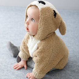 Baby Poncho in Phildar Phil Douce & Partner 6 - Downloadable PDF