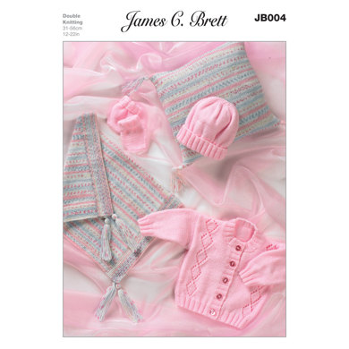 Pram Set in James C. Brett DK - JB004