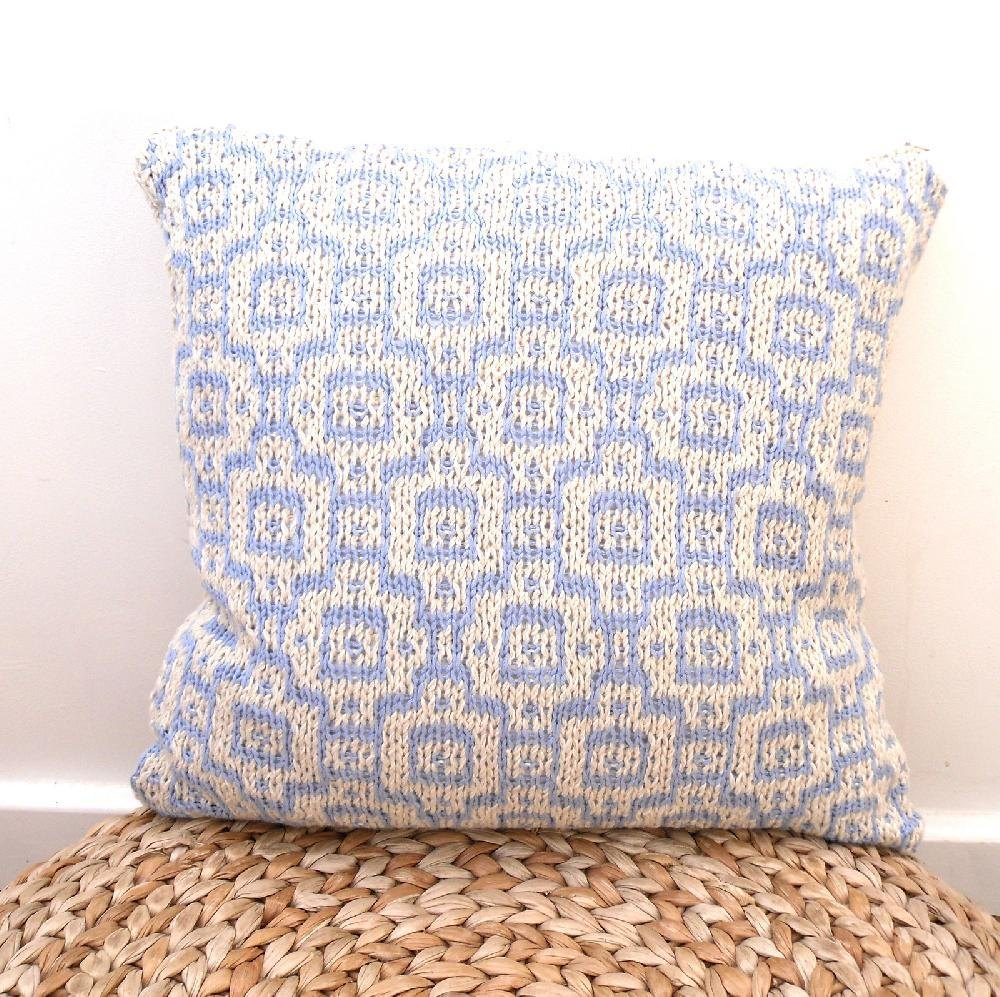 Moroccan Mosaic Cushion Cover Knitting pattern by The Feminine Touch ...