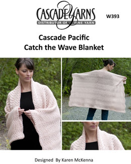 Catch the Wave Blanket Cascade Pacific - W393
