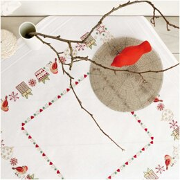 Rico Bird Embroidery Tablecloth Kit