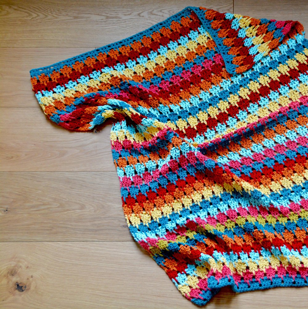 The Larksfoot Blanket Crochet Pattern By Hannah Cross