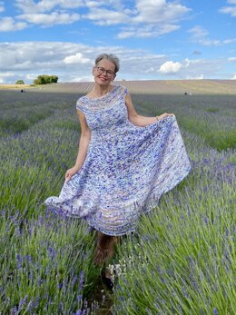 The Lavender Field Dress