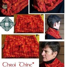Chroi Thine (Irish = Hearts On Fire) cowl