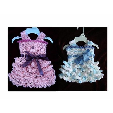 583 CROCHET DRESS, Baby, children, teen, adult