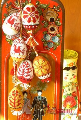 Russian Spring Easter Eggs