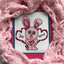 Luhu Stitches Be Mine Bunny - Downloadable PDF