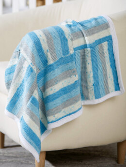 Nine Patch Blanket in Premier Yarns Everyday Baby & Anti-Pilling Everyday Baby - Downloadable PDF