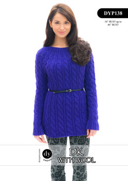 Sweater in DY Choice DK With Wool - DYP138