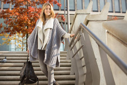 Cape in Schachenmayr Soft Mix - S9607 - Downloadable PDF
