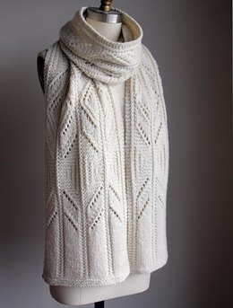 Winter Wish Scarf (Aran)