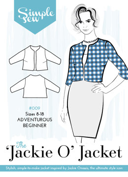 Simple Sew Patterns The 'Jackie O' Jacket #009 - Sewing Pattern