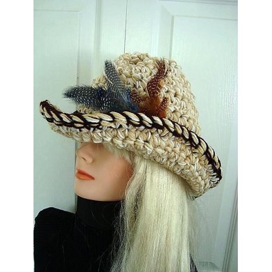 565 COWGIRL HAT, cowboy hat, adult size, women