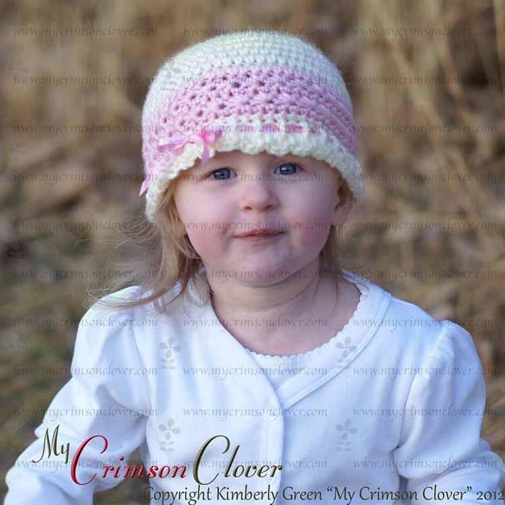 Baby Beanie - Star Stitch Hat Crochet pattern by Kimberly Green ... 766370206e9