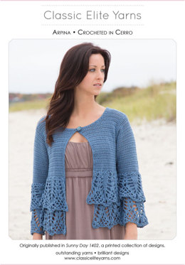 Arpina Cardigan in Classic Elite Yarns Cerro - Downloadable PDF