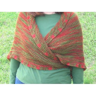 Simple Colorplay Shawl