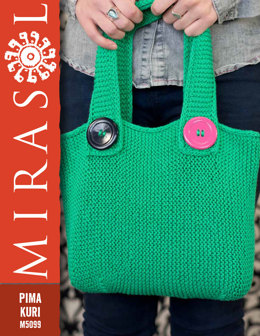 Tote Bag in Mirasol Pima Kuri - M5099
